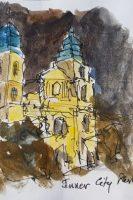 Inner City Parish Church Drawing